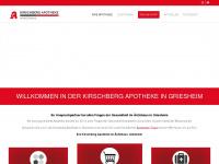 kirschberg-apotheke.de Webseite Vorschau