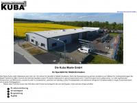 kuba-maste.de Webseite Vorschau