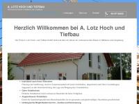 lotz-bauen.de Webseite Vorschau