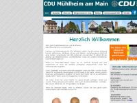 cdu-muehlheim.de Webseite Vorschau