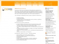 logccess.de Webseite Vorschau