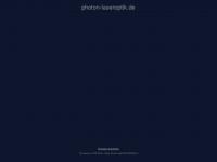 photon-laseroptik.de Webseite Vorschau