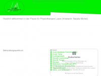 physio-lutze.de Webseite Vorschau