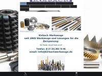 kirbachwerkzeuge.de Webseite Vorschau