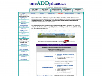oneaddplace.com