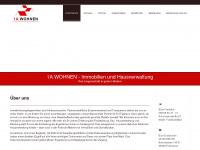 1a-wohnen.net Webseite Vorschau