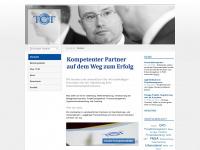 tct.de Webseite Vorschau
