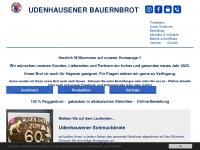 Udenhausener-bauernbrot.de