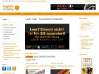 logistic-ready.de Webseite Vorschau