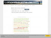 lobpreissuche.de Webseite Vorschau