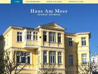 am-meer.de Webseite Vorschau