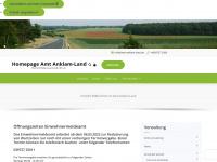 amt-anklam-land.de Webseite Vorschau