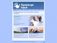 physio-piontek.de Webseite Vorschau