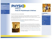 physiowell-bielefeld.de Webseite Vorschau