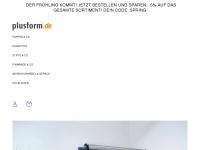 plusform.de Webseite Vorschau