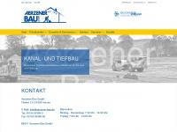 aerzener-bau.de Webseite Vorschau