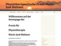 physio-niehsen.de Webseite Vorschau