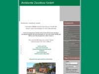 ambiente-zaunbau.de Webseite Vorschau