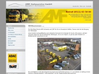 amfautoservice.com Webseite Vorschau