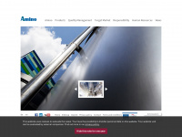 amino.de Webseite Vorschau