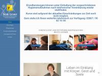 kinesiologie-liesner.de Webseite Vorschau