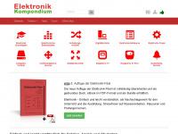 elektronik-kompendium.de Webseite Vorschau