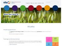 kvhs-gifhorn.de Webseite Vorschau