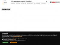 cdu-osterholz-scharmbeck.de Webseite Vorschau