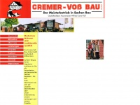 cremer-voss-bau.de Webseite Vorschau
