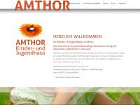 kinderhaus-amthor.de Webseite Vorschau