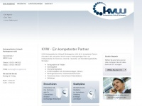 kvw-agentur.de Webseite Vorschau