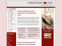 nebensatz.com