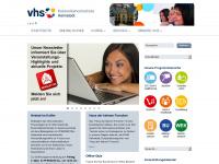 kvhs-helmstedt.de Webseite Vorschau