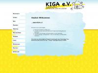 kigaev.de Webseite Vorschau