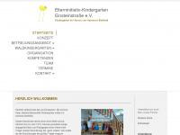 kindergarten-einsteinstrasse.de Webseite Vorschau