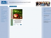 kvhs-wsm.de Webseite Vorschau