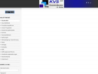 kvs-gmbh.com Webseite Vorschau