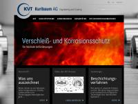 kvt-group.de Webseite Vorschau