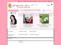kinderparty-onlineshop.de Webseite Vorschau
