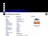 kino-fahrplan.de Webseite Vorschau