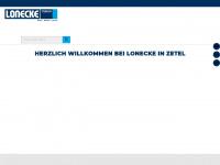 lonecke-zetel.de Webseite Vorschau