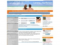 lorenz-kurreisen.de Webseite Vorschau
