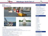 oyc-segeljugend.de Webseite Vorschau