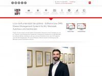 loco-soft.de Webseite Vorschau