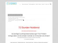 bodenmarkierungen.info Webseite Vorschau