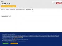 cdu-rastede.de Webseite Vorschau