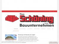 schoening-bau.de Webseite Vorschau