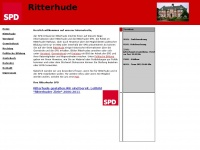 spd-ritterhude.de Webseite Vorschau