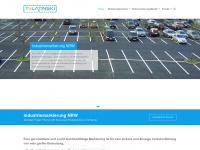 industriemarkierung-nrw.de Webseite Vorschau
