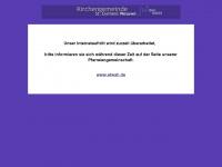 kirchengemeinde-wesuwe.de Webseite Vorschau